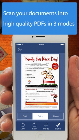 iPhone、iPadアプリ「AnyScan - Quick PDF Scanner for Multipage documents」のスクリーンショット 2枚目