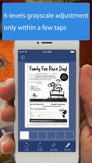 iPhone、iPadアプリ「AnyScan - Quick PDF Scanner for Multipage documents」のスクリーンショット 3枚目