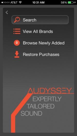 iPhone、iPadアプリ「Audyssey Music Player」のスクリーンショット 3枚目