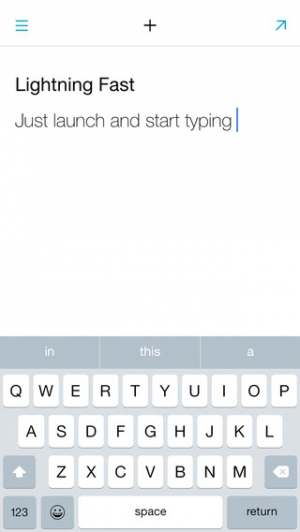 iPhone、iPadアプリ「Quick Drafts - Notes, Errands and Shopping List」のスクリーンショット 3枚目