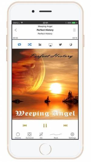 iPhone、iPadアプリ「SuperLoud Essential アメージングクオリティ・イコライザー」のスクリーンショット 2枚目