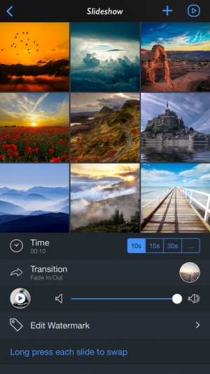 iPhone、iPadアプリ「InstaFrame+ - All In One Collage Maker」のスクリーンショット 4枚目