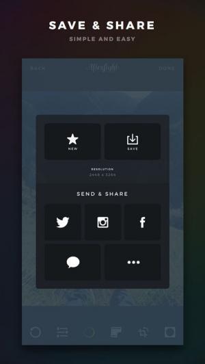 iPhone、iPadアプリ「Afterlight」のスクリーンショット 5枚目