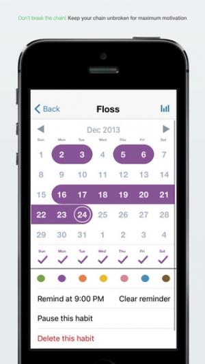 iPhone、iPadアプリ「Good Habits」のスクリーンショット 2枚目