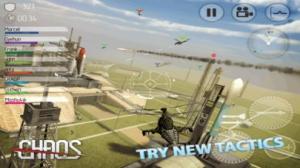 iPhone、iPadアプリ「CHAOS - マルチヘリコプターシミュレータ3D」のスクリーンショット 3枚目