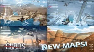 iPhone、iPadアプリ「CHAOS - マルチヘリコプターシミュレータ3D」のスクリーンショット 4枚目