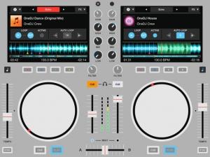 iPhone、iPadアプリ「OneDJ」のスクリーンショット 1枚目