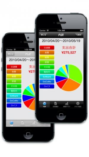 iPhone、iPadアプリ「家計簿くんPro」のスクリーンショット 4枚目