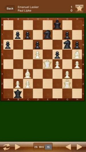 iPhone、iPadアプリ「Chess Games Collection」のスクリーンショット 2枚目
