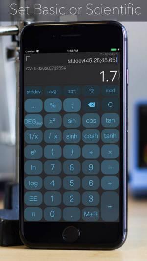 iPhone、iPadアプリ「CALC Smart」のスクリーンショット 1枚目