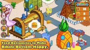 iPhone、iPadアプリ「SpongeBob Moves In」のスクリーンショット 2枚目