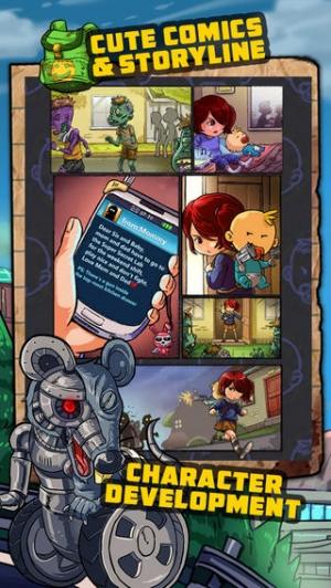 iPhone、iPadアプリ「Cute Kill」のスクリーンショット 3枚目