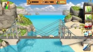iPhone、iPadアプリ「Bridge Constructor Playground」のスクリーンショット 1枚目