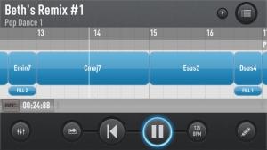iPhone、iPadアプリ「SessionBand for iPhone」のスクリーンショット 2枚目