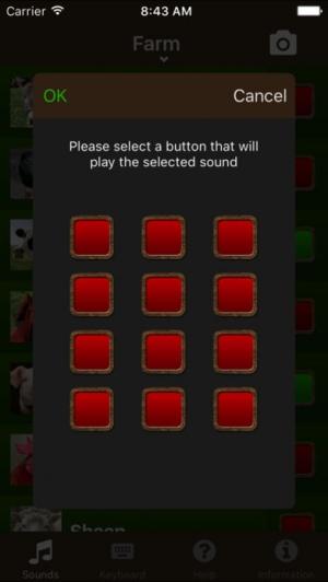 iPhone、iPadアプリ「動物の音!」のスクリーンショット 5枚目