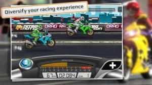 iPhone、iPadアプリ「Drag Racing: Bike Edition」のスクリーンショット 1枚目