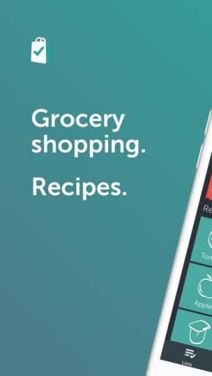 iPhone、iPadアプリ「Bring! Shopping List & Recipes」のスクリーンショット 1枚目