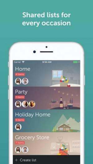 iPhone、iPadアプリ「Bring! Shopping List & Recipes」のスクリーンショット 3枚目