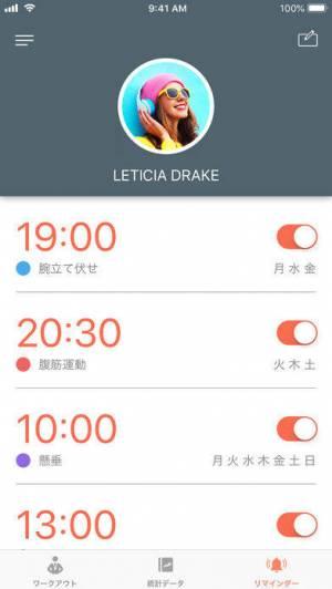 iPhone、iPadアプリ「Just 6 Weeks」のスクリーンショット 5枚目