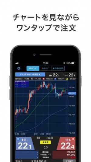 iPhone、iPadアプリ「iSPEED FX - 楽天証券のFXアプリ」のスクリーンショット 1枚目