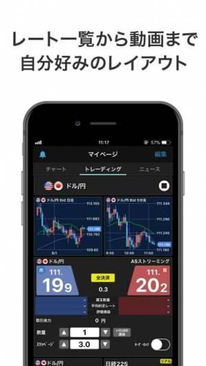 iPhone、iPadアプリ「iSPEED FX - 楽天証券のFXアプリ」のスクリーンショット 4枚目