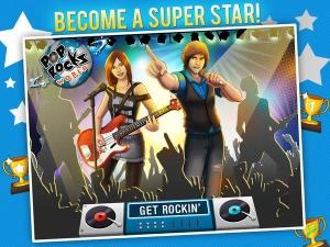 iPhone、iPadアプリ「POP ROCKSワールドHD - MUSIC RPGゲーム」のスクリーンショット 1枚目