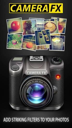 iPhone、iPadアプリ「カメラFX」のスクリーンショット 1枚目