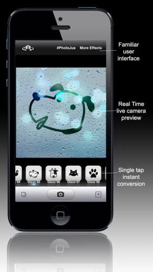 iPhone、iPadアプリ「PhotoJus Cute Fog FX Pro - Pic Effect for Instagram」のスクリーンショット 3枚目