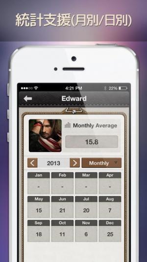 iPhone、iPadアプリ「クイックダイヤル <人間関係改善プロジェクト>」のスクリーンショット 4枚目