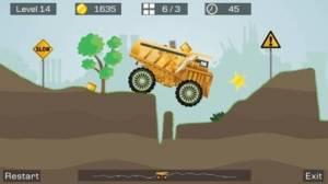 iPhone、iPadアプリ「Big Truck -Mine Express Racing」のスクリーンショット 2枚目
