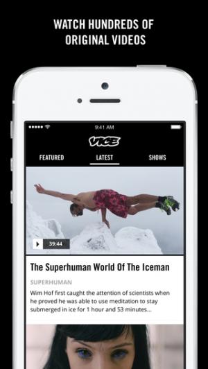 iPhone、iPadアプリ「VICE Media」のスクリーンショット 4枚目