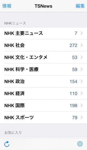 iPhone、iPadアプリ「TSNews - 最新ニュース記事の日本語音声合成」のスクリーンショット 3枚目