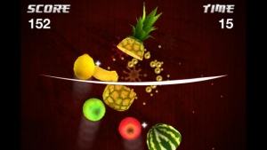 iPhone、iPadアプリ「Fruit Samurai」のスクリーンショット 2枚目