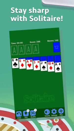 iPhone、iPadアプリ「ソリティア- Solitaire.」のスクリーンショット 1枚目