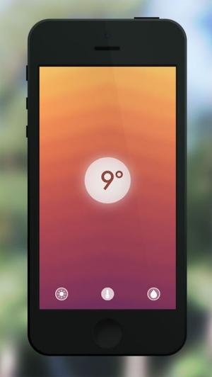 iPhone、iPadアプリ「Haze ~ Weather Forecasts」のスクリーンショット 1枚目