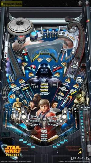 iPhone、iPadアプリ「Star Wars™ Pinball 7」のスクリーンショット 1枚目
