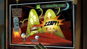 iPhone、iPadアプリ「フェッチ™ - 犬と少年、そしてエイリアンやロボット、海賊が登場するアニメーションアドベンチャー!」のスクリーンショット 3枚目
