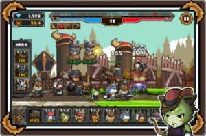iPhone、iPadアプリ「ねこ戦争2」のスクリーンショット 3枚目