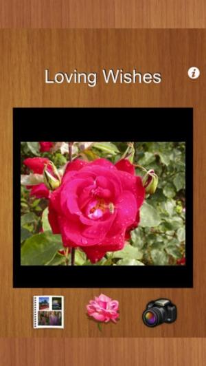 iPhone、iPadアプリ「バラのはがき」のスクリーンショット 2枚目