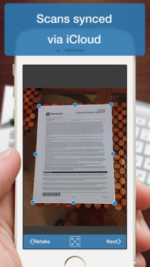 iPhone、iPadアプリ「Scanner Deluxe - Scan and Fax Documents, Receipts, Business Cards to PDF」のスクリーンショット 4枚目