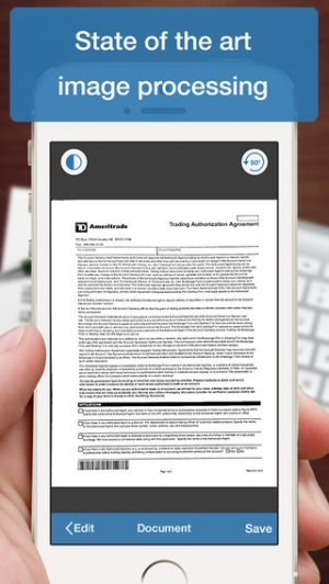 iPhone、iPadアプリ「Scanner Deluxe - Scan and Fax Documents, Receipts, Business Cards to PDF」のスクリーンショット 5枚目