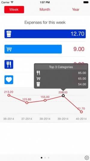 iPhone、iPadアプリ「Next for iPhone - 支出記録アプリ」のスクリーンショット 2枚目