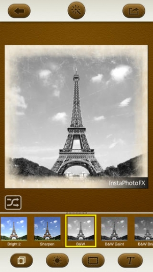 iPhone、iPadアプリ「InstaPhotoFX - Photo Effects & Picture Caption for Instagram」のスクリーンショット 1枚目