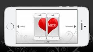 iPhone、iPadアプリ「Love Lock Screens」のスクリーンショット 1枚目