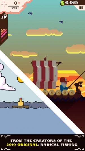 iPhone、iPadアプリ「Ridiculous Fishing - A Tale of Redemption」のスクリーンショット 5枚目