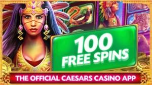 iPhone、iPadアプリ「Caesars Casino Official Slots」のスクリーンショット 1枚目