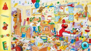 iPhone、iPadアプリ「Look and Find® Elmo on Sesame Street」のスクリーンショット 2枚目