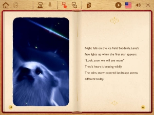 iPhone、iPadアプリ「しろくまのテオ Lite - S28」のスクリーンショット 4枚目