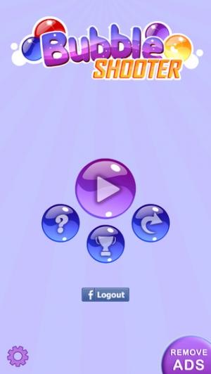 iPhone、iPadアプリ「Bubble Shooter! 無償」のスクリーンショット 5枚目