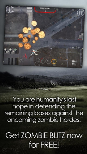 iPhone、iPadアプリ「Zombie Blitz」のスクリーンショット 5枚目